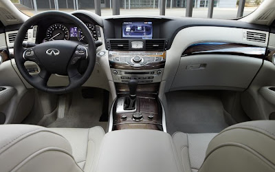 Nissan Hybrid Car - interior