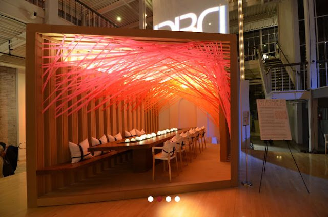 Gensler table at Dining by Design