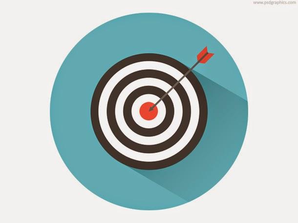 Dart on Target Icon