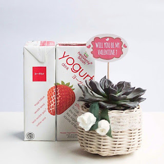 Manfaat Yoghurt Strawberry