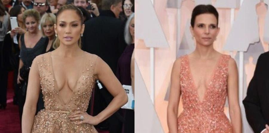 Se burlan de J.Lo por su traje en los Oscar