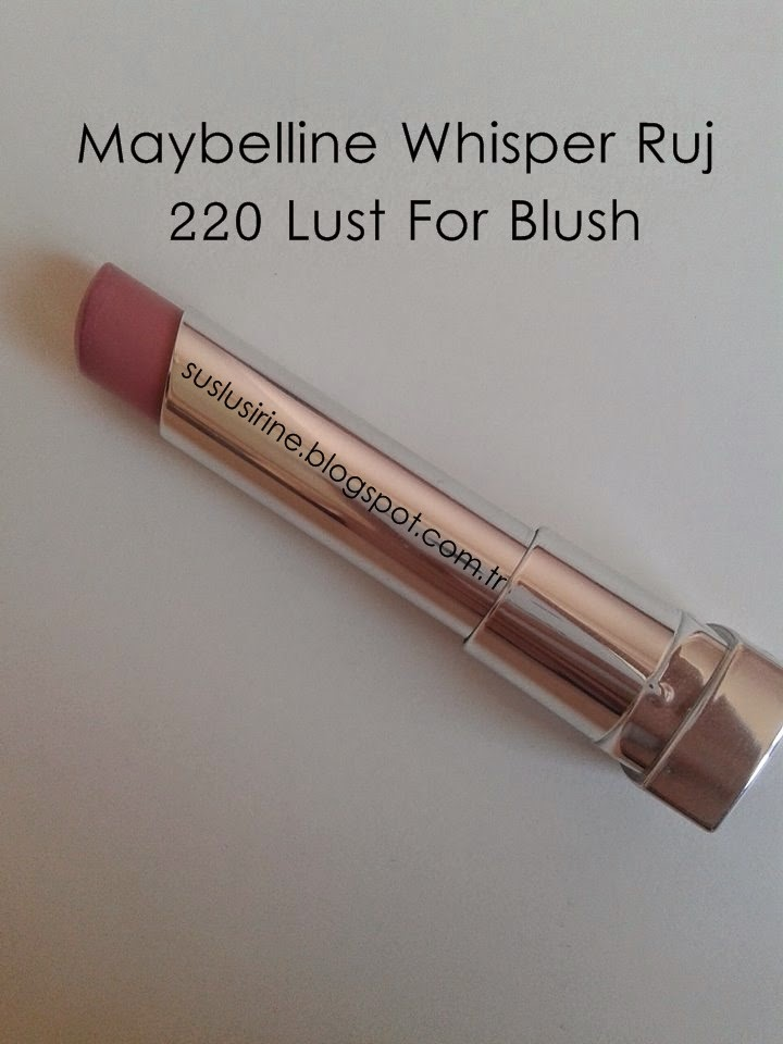 maybelline whisper 220 lust for blush ruj