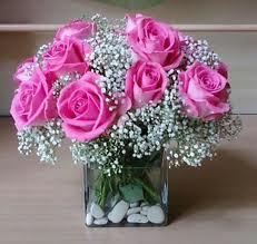 bunga vas untuk valentine