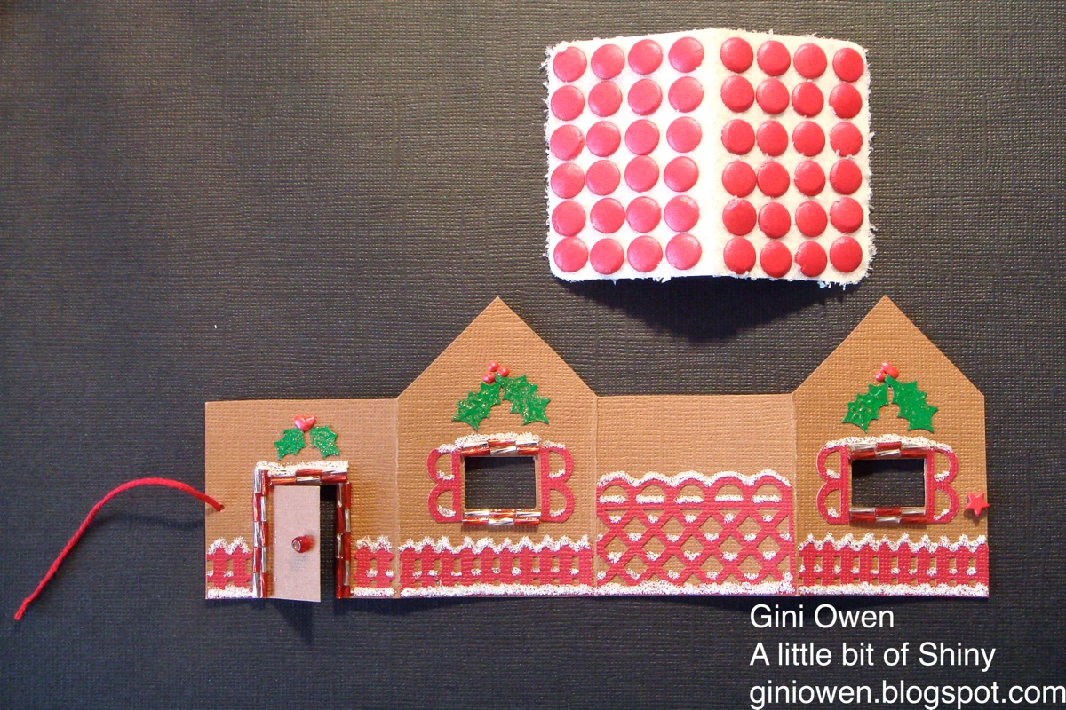 Paper Gingerbread House Template Undone this is what the house