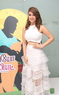 Hansika at romeo juliet tamil movie premiere show photos