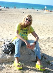 Na praia de Cesareia