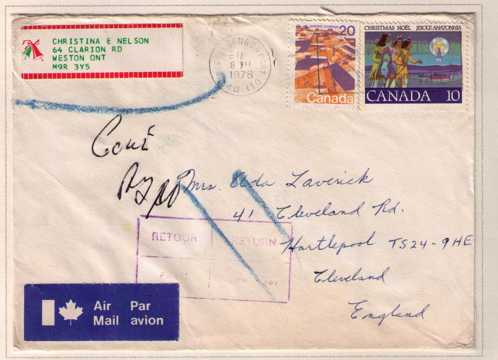 the international letter rate increased from 25 cents to 30 cents for the first ounce on april 1 1978