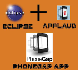 eclipse and applaud makes phonegap