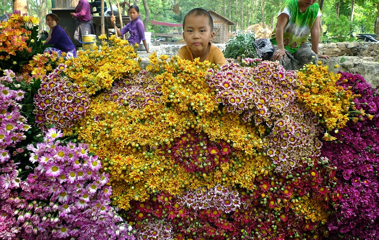 TRAVELS (and more) WITH CECILIA BRAINARD: Garden: The Flower Market ...