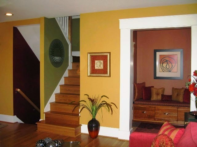 interior wall paint color samples