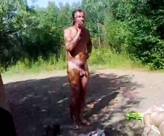 camp shower nude boy