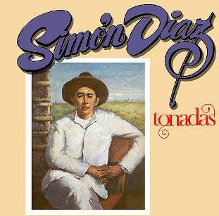 Carátula del disco Tonadas (Simón Díaz 1974)