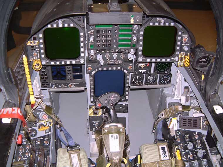 F 18 Cockpit Cockpit+Parts 1...