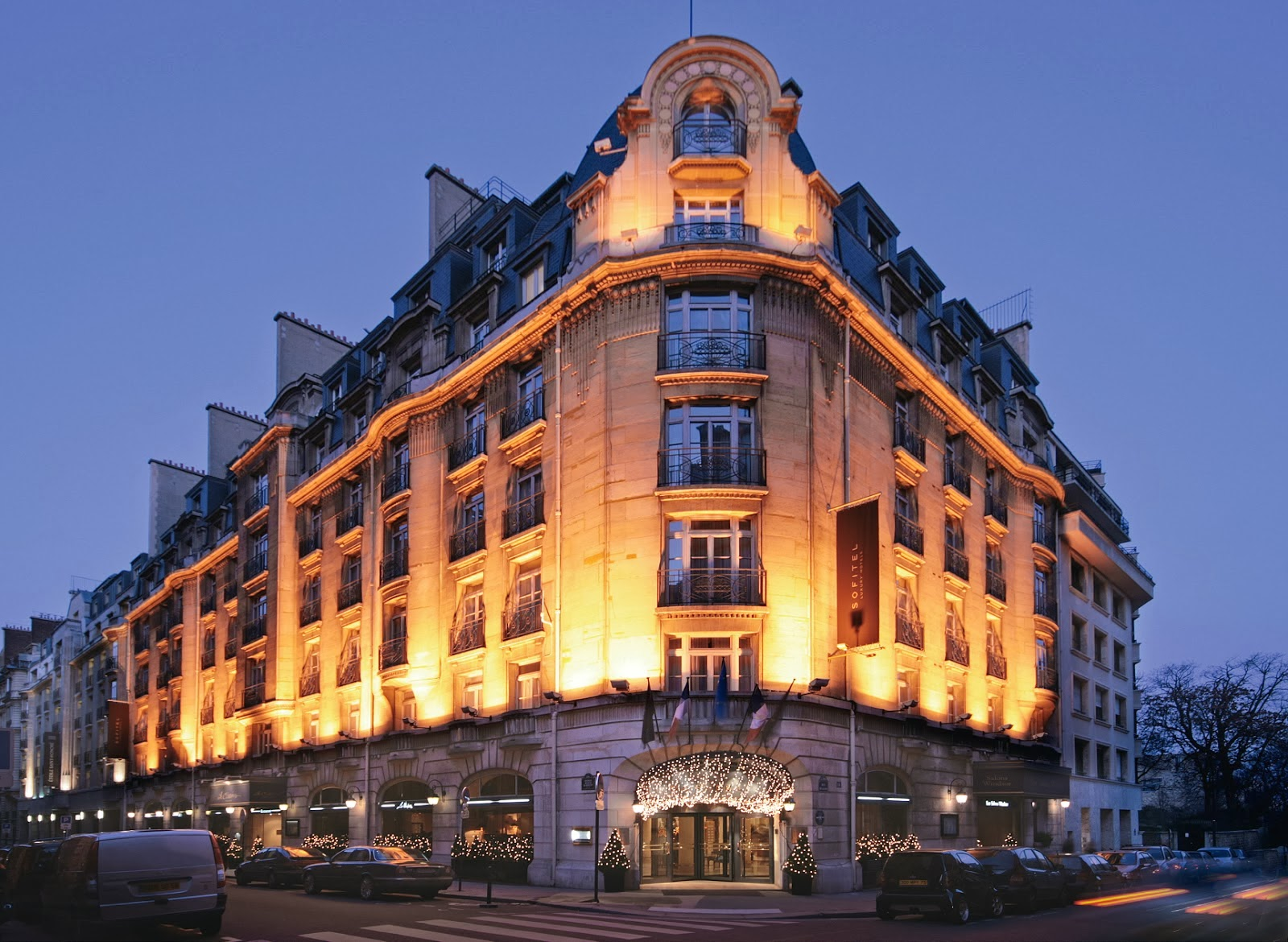 Passion for luxury sofitel paris arc de triomphe hotel for Hotels design en france