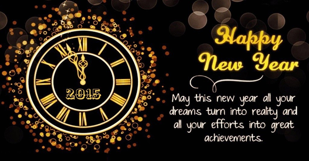 new years eve 2015 wish you all happy year