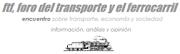 FORO DEL TRANSPORTE Y EL FERROCARRIL
