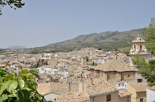View of Caravaca from the Santuario de la Vera Cruz
