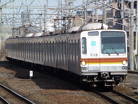 東武東上線 副都心線直通 普通 渋谷行き1 7000系