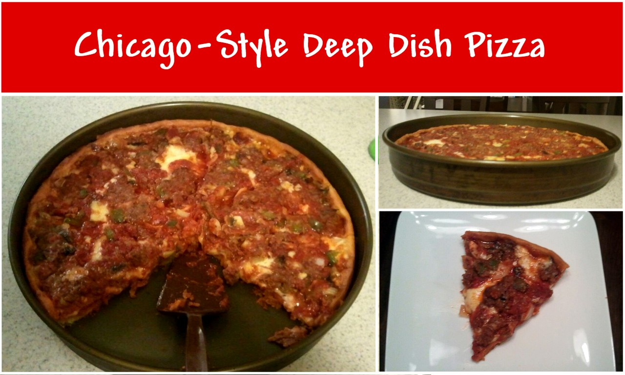 The Hawkeye Plate: Chicago-Style Deep Dish Pizza