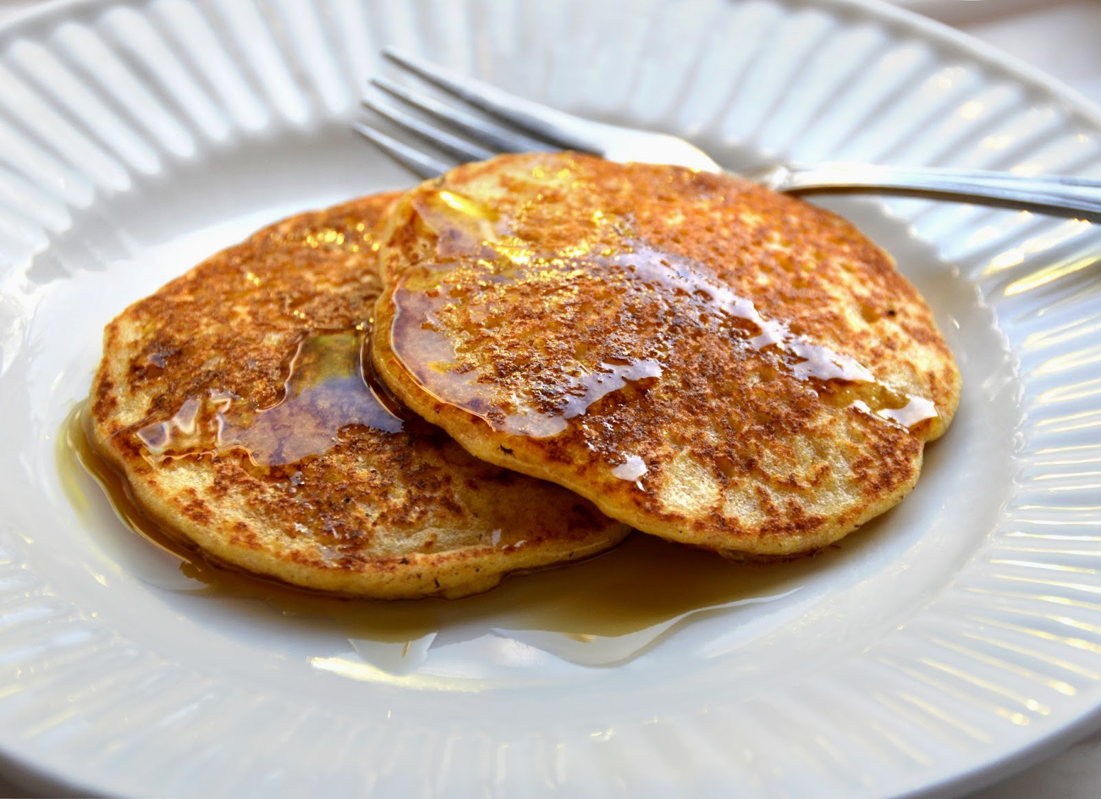 Processed Free and Me: Cornmeal Griddle Cakes