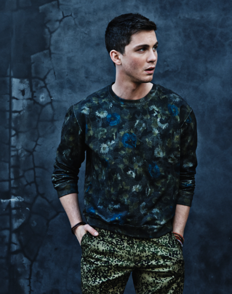 Logan Lerman by Christopher Hench for Shortlist Mode SS14