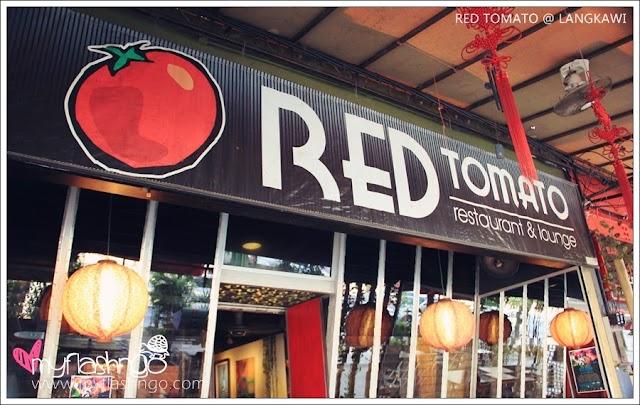 Langkawi 美食   Red Tomato 红番茄 @ Pantai Cenang