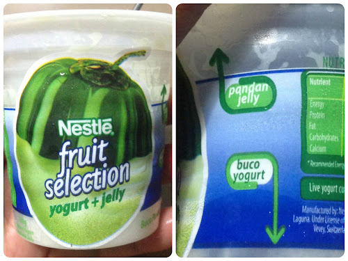 Nestlé Fruit Selection Yogurt+Jelly Buko Pandan