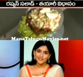 Russian Salad making in Sakshi Family – 29th Oct