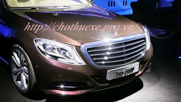 Cho thuê xe cưới Mercerdes S500 đời mới 2014