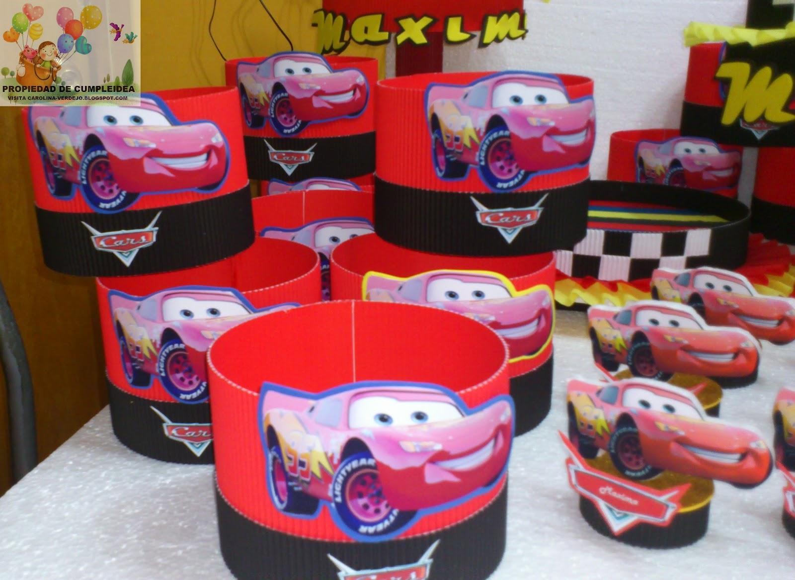 Decoracion de cars decoraciones infantiles auto design tech - Decoracion fiestas infantiles ...