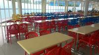 Fibreglass Table Canteen
