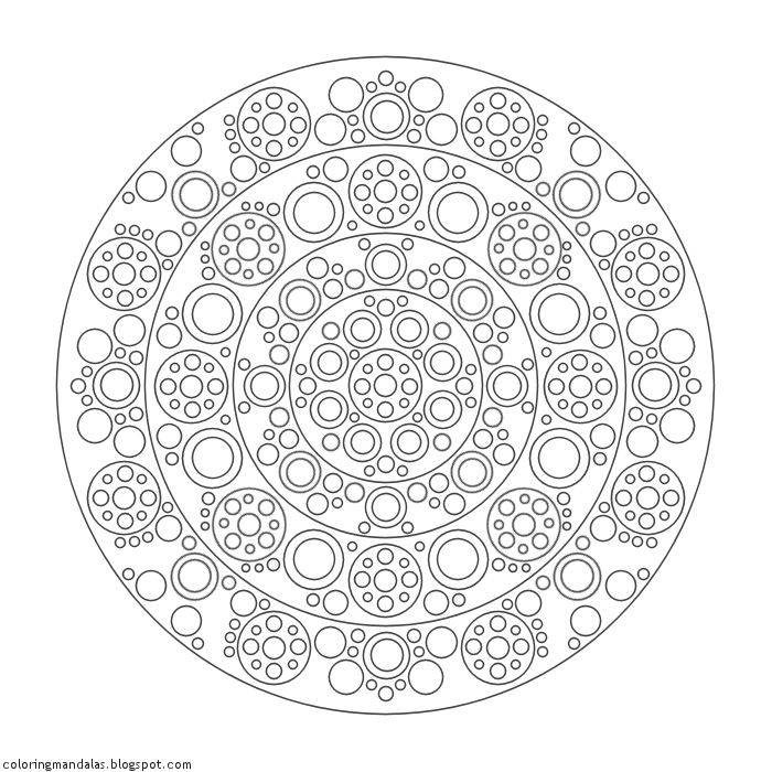 Coloring Mandalas 30 Wheel of Energy