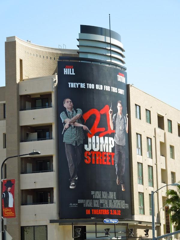 21 Jump Street billboard