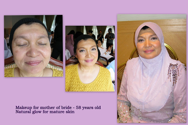 Softm natural makeup for mother of bride