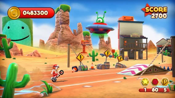 screenshot 1 Joe Danger v1.0.7