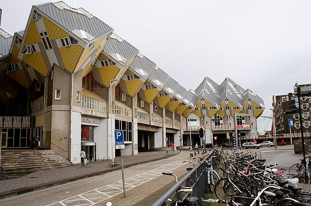 Ocak 2012 modern architect for Hotel amsterdam cube