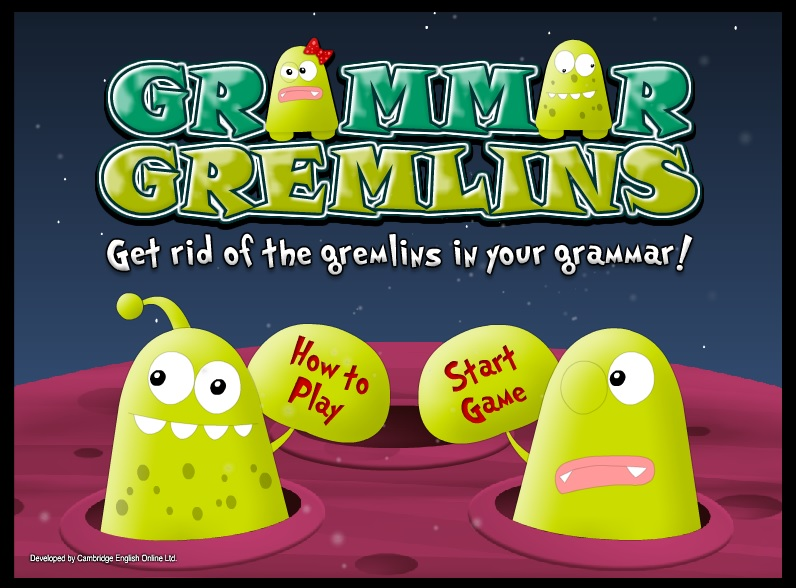 Grammar Gremlins!