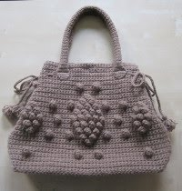 Tasche in Taupe