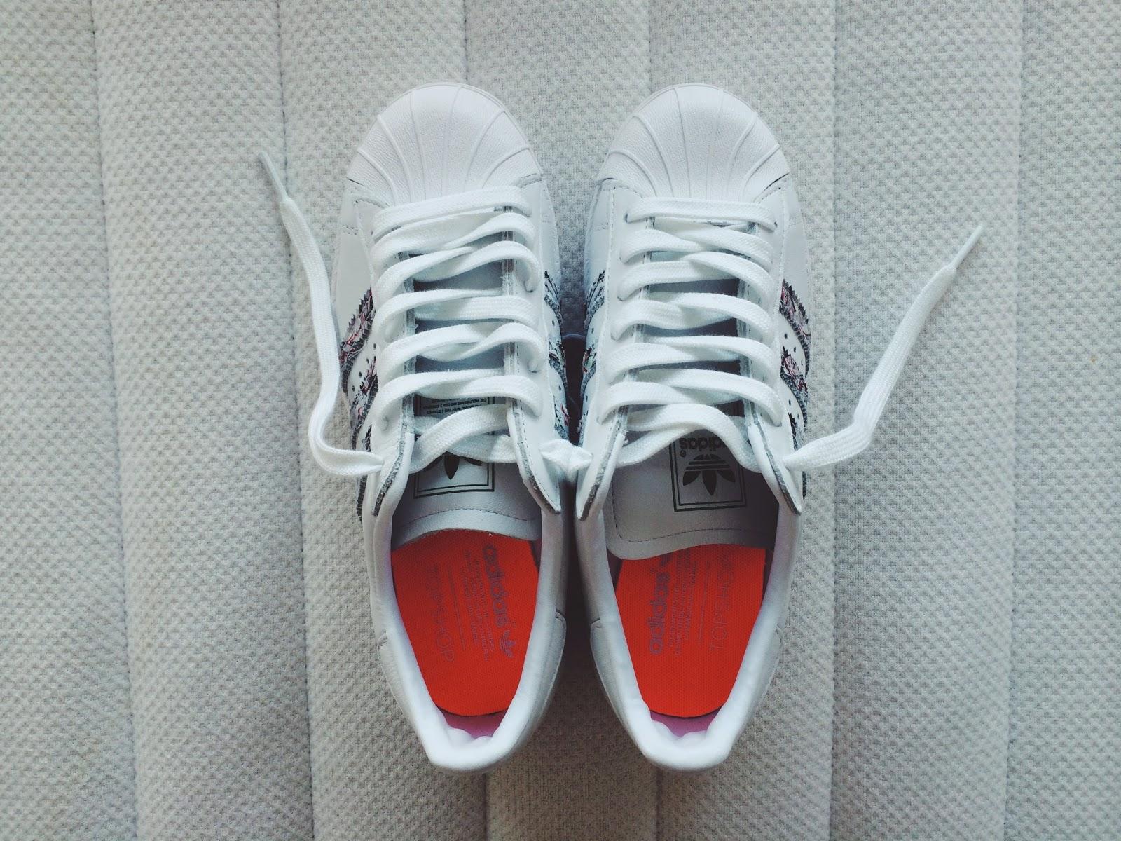 topshop adidas superstar ii adidas originals london