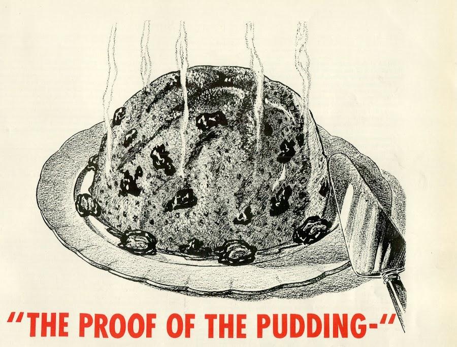 Half Pudding Half Sauce
