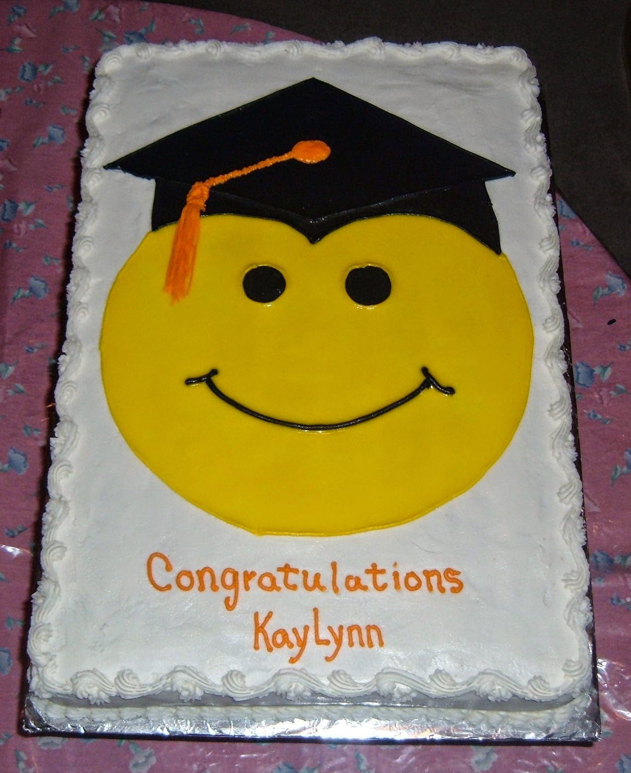 Cakes By Ruth: Valley High Grad