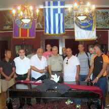 """ביקור במחנה המעצר """"חיידרי"""" באתונה , 2.10.2013"""