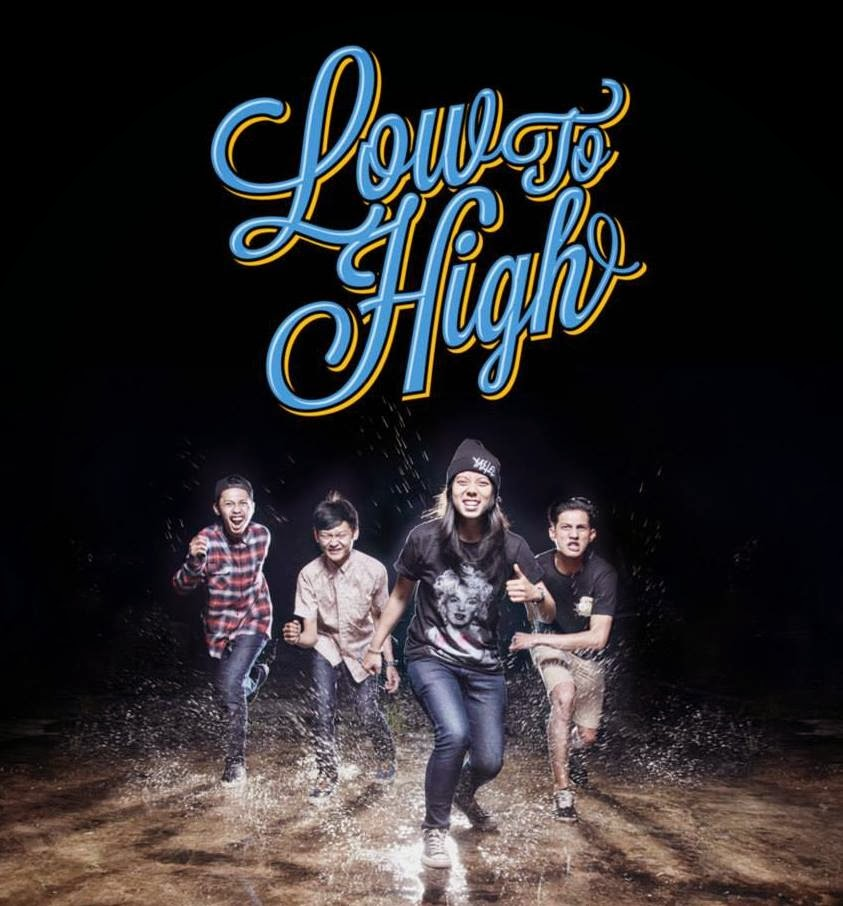 Low To High Band Melodic Hardcore Tasikmalaya Foto Personil Logo Wallpaper