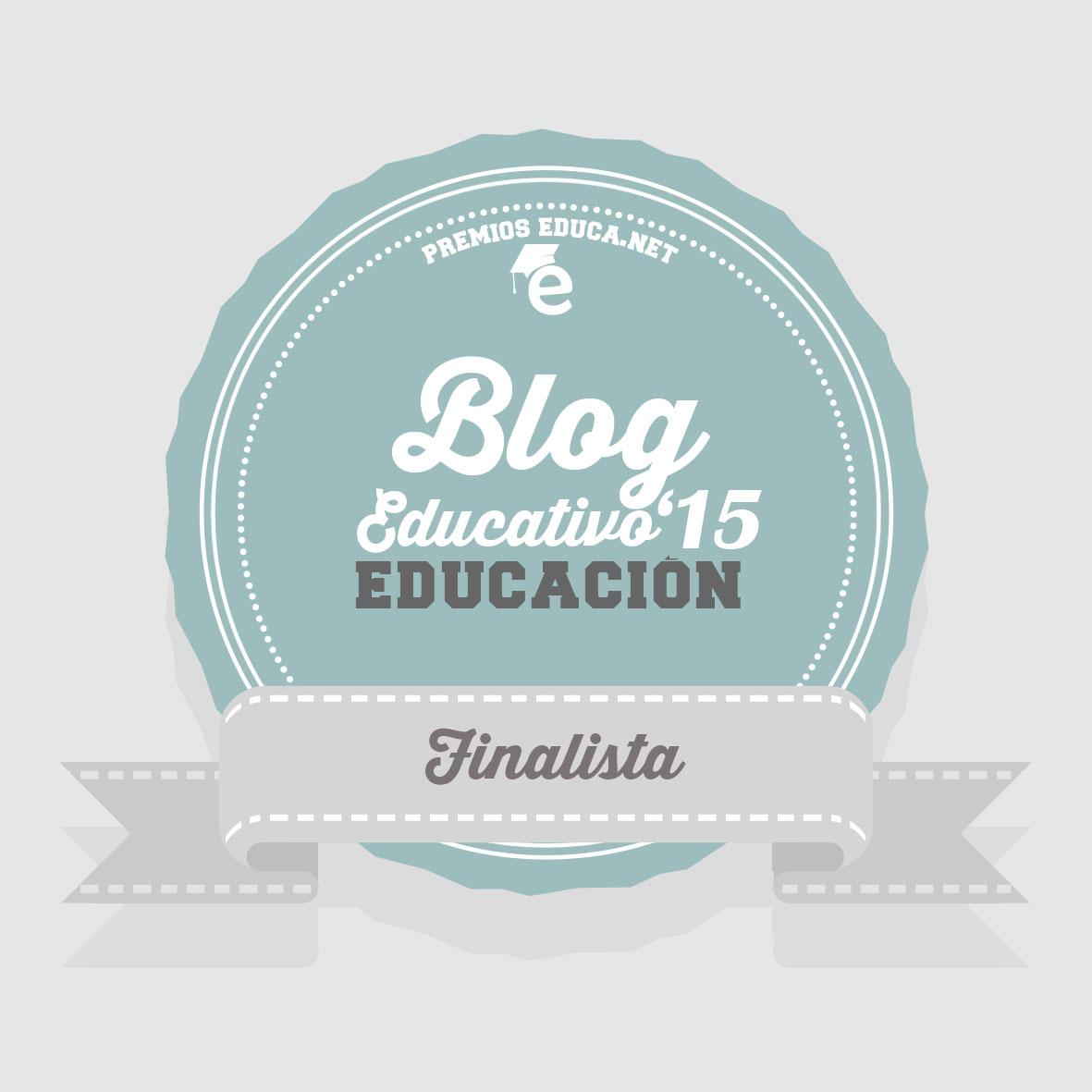 FINALISTA BLOG DE EDUCACIÓN