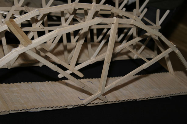 how to build a truss bridge out of popsicle sticks