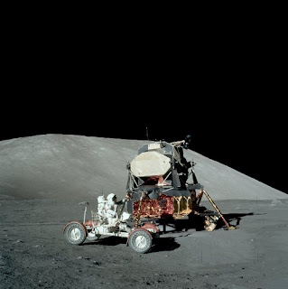 Apollo 17 (AS17-147-22527). Fonte: NASA / Kipp Teague