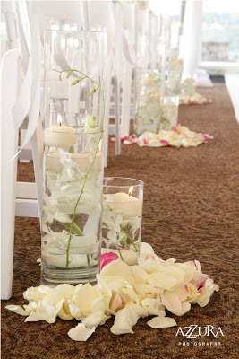 Flora Nova Design, blush pink wedding flowers, Newcastle Golf Club wedding, aisle candles