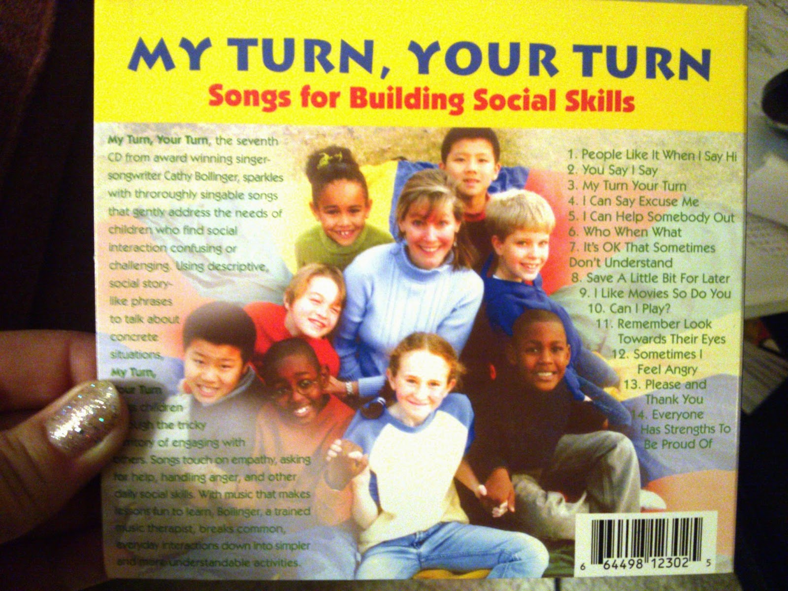 """My Turn Your Turn: Songs for Building Social Skills"" Children's CD Review"