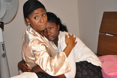 Julius Aghahowa's 11 year old daughter makes Nollywood debut