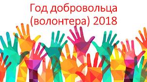 2018 год - Год добровольца (волонтёра)